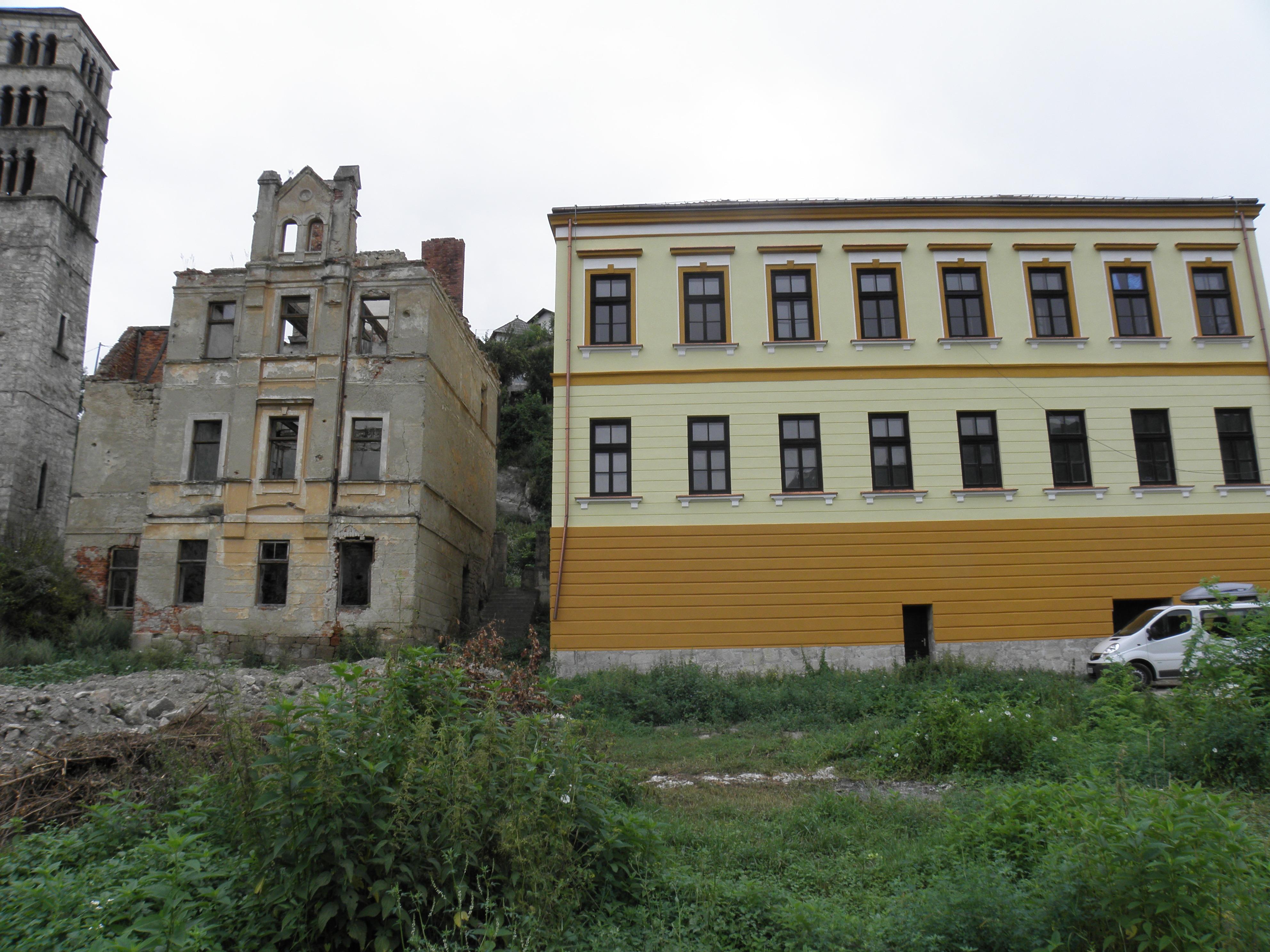 Zgrada finansija u zoni historijskog gradskog područja Jajca